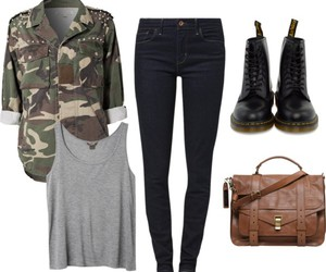clothes, combat boots, and dr martens image