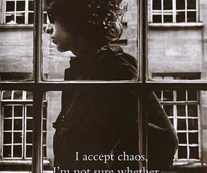 bob dylan, quote, and chaos image