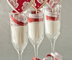 food and valentine cookie pops image
