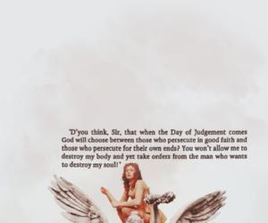 angel, mila jovovich, and poem image
