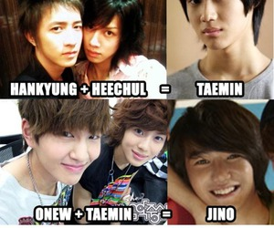 hangeng, Onew, and super junior image