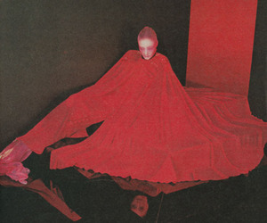 1975, fashion, and red image