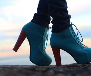 blue, fashion, and lita image