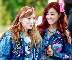 tiffany, taeyeon, and girls generation image