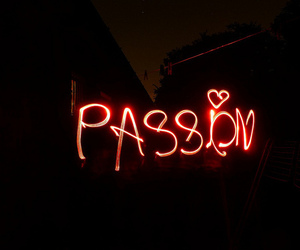 passion, light, and red image