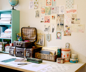drawings, interior, and cute image
