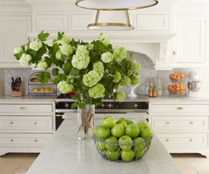 kitchen, flowers, and design image