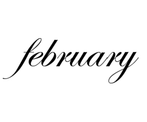 february, text, and dubtrackfm image