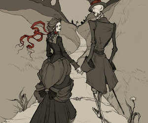 couple, art, and death image