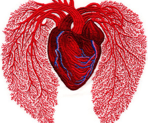 heart and embroidery image