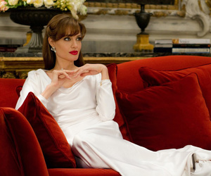 Angelina Jolie, the tourist, and red image