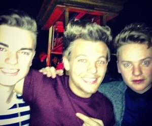 louis tomlinson, one direction, and conor maynard image