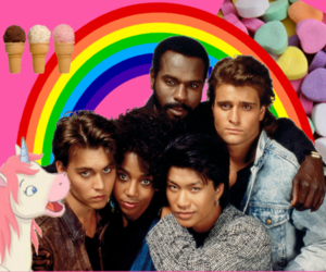 johnny depp, unicorn, and 21 jump street image