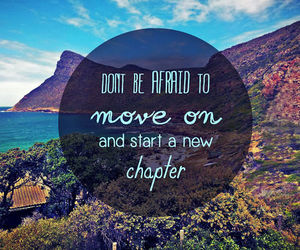 quotes, move on, and life image