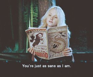 harry potter, quote, and evanna image