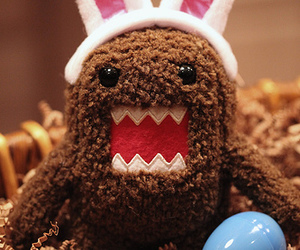 domo, cute, and bunny image