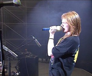 axl rose, I Love You, and cute image