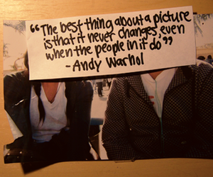 andy warhol, memories, and quote image