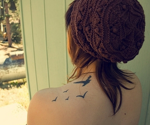birds and tattoo image