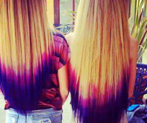 amazing, dip dye, and dyed hair image