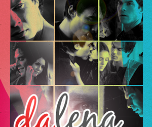 Nina Dobrev, Vampire Diaries, and damon salvatore image