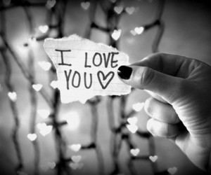 hearts, ks, and love image