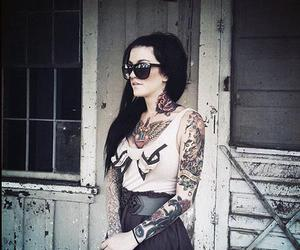 tattoo, girl, and inked image