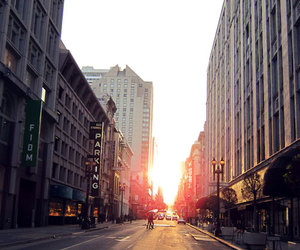 city, life, and night image