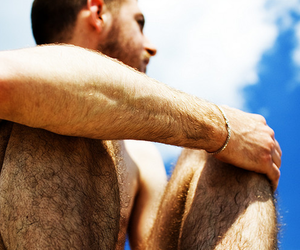 guy, Hot, and hairy legs image