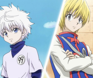 hunter x hunter, killua, and kurapika image