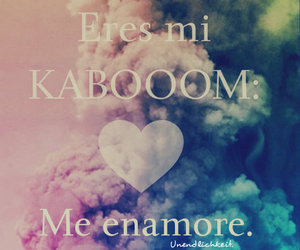 love, colors, and kaboom image