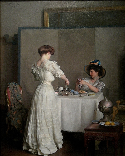 art, painting, and william mcgregor paxton image