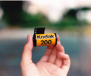 analog, kodak, and film image