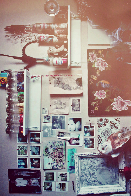 hipster room | Tumblr shared by @midnight_cat