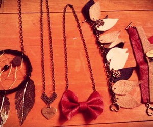bracelet, dreamcatcher, and dreams image