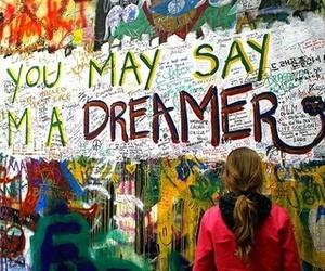 dreamer, Dream, and imagine image