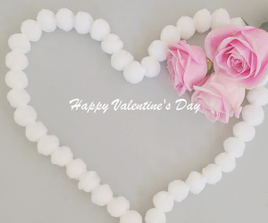 heart, valentines day, and shabby chic image