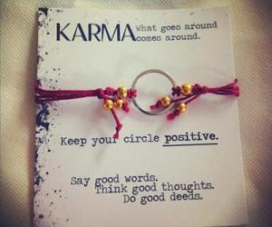 good, quotes, and karma image