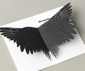 Paper and wings image