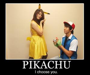 ash, pikachu, and pokemon image