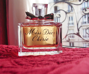 perfume, dior, and miss dior cherie image