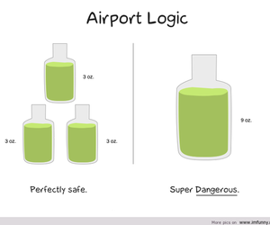 funny and airport image