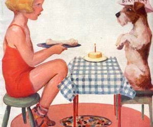 birthday, girl, and Terrier image
