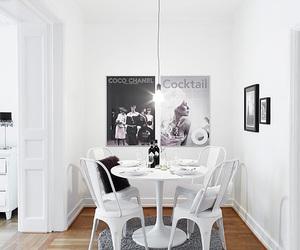 apartment, interior, and light image