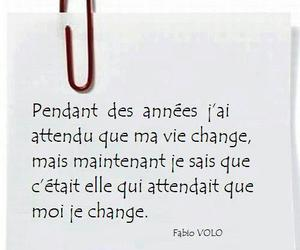 change, francais, and quotes image