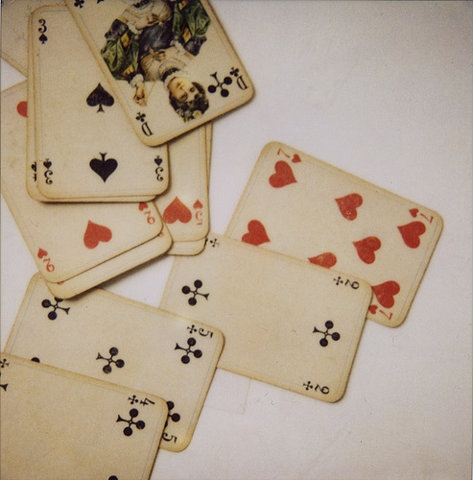 cards and playing cards image