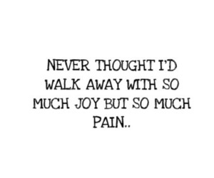 quote, text, and pain image