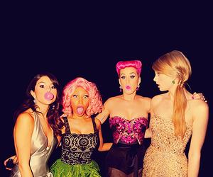 katy perry, selena gomez, and Taylor Swift image