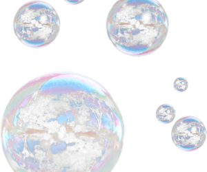 bubbles, transparent, and overlay image