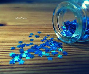 blue and photography image